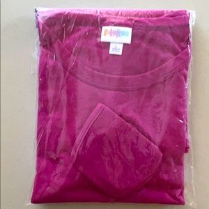 LuLaRoe L LIV solid pink